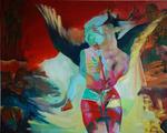 Passy love, huile sur toile 130 x 162 cm 2015