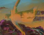 Le détachement huile sur toile 80 x 100 cm 2011