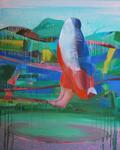 Le Pleur de Marianne 162 x 130 cm 2012
