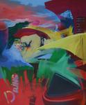 Rio loco huile sur toile 100 x120 cm 2012