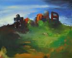 Friches huile sur toile 130 x 162 cm 2013