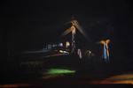 La ronde de nuit huile sur toile 50 x 73 cm 2013