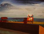 Mont Pico huile sur toile 33 x 41 cm 2013
