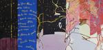 Blue Note, à Claude Nougaro huile sur toile  97 x 195 cm 2007