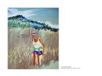 Les hautes herbes - pastel sur papier 104 x 85 cm 2011