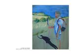 Le rocher aux vautours - pastel sur papier 104 x 85 cm 2011