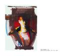 Ligne Voyageur 22 - pastel et huile sur papier 100 x 70 cm 1998
