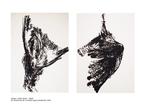 Oiseau / Série noire détail de l'ensemble de la double page précédente 1992