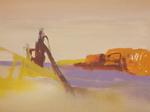 Extraction huile sur toile 50 x 73 cm 2012