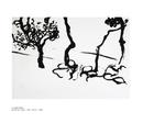 Le vieil arbre - pastel sur papier 100 x 70 cm 1999
