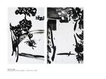 Sous la neige - diptyque pastel huile sur papier 2 x 100 x 70 cm 2001