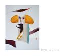 Thé ô gracias - pastel et collage sur papier 100 x 70 cm