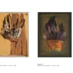 Planche 4 et 5 - pastel et huile sur papier 70 x 50 cm 1992