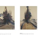 Oiseau 1&2 - pastel à l'huile sur papier 100 x 70 cm 1992