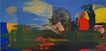 Le rôti de Noces 97 x 195 cm huile sur toile 2015