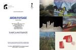 Carton d'invitation huile sur toile 24 x 33 cm 2014