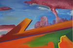Angle nu huile sur toile 24 x 33 cm 2014